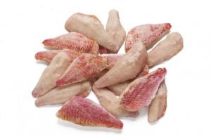 Filete de salmonete con piel